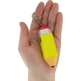 Pencil Key Chain Stress Ball for Advertising