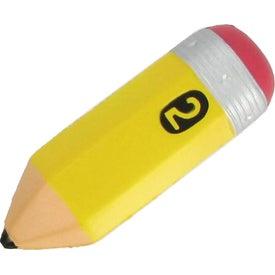 Monogrammed Pencil Stress Ball