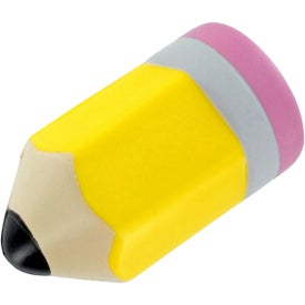 "Pencil Stress Ball (3.5"" x 2"" Dia.)"