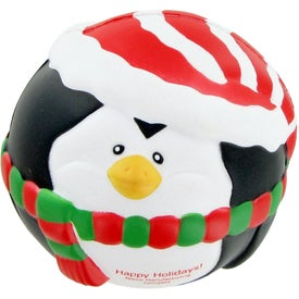 Promotional Penguin Ball Stress Toy