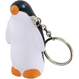 Penguin Keychain Stress Toy