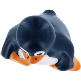 Sitting Penguin Stress Reliever for Advertising