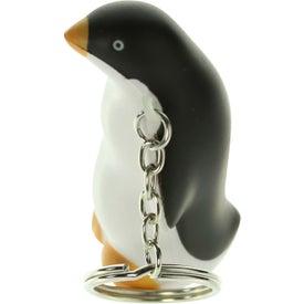 Company Penguin Stress Ball Key Chain