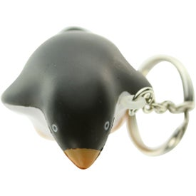 Penguin Stress Ball Key Chain for Marketing
