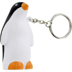 Penguin Stress Ball Key Chain