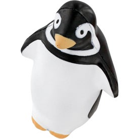 Monogrammed Penguin Stress Reliever