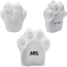 Promotional Pet Paw Stress Ball