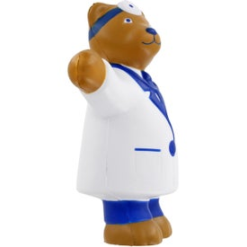 Doctor Bear Stress Ball Printed with Your Logo