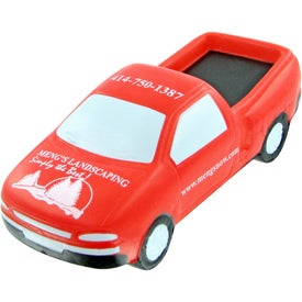 Advertising Pick up Truck Stress Toy