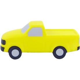 Branded Pick Up Truck Stress Toys
