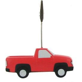 Custom Pick Up Truck Stress Ball Memo Holder