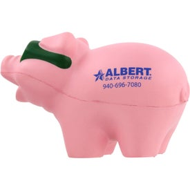 Cool Pig with Sunglasses Stress Ball for your School