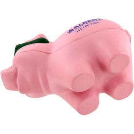 Personalized Cool Pig with Sunglasses Stress Ball