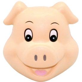 Cute Pig Head Stress Reliever