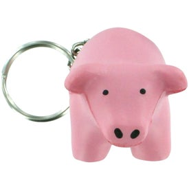 Pig Key Chain Stress Relievers for Your Organization