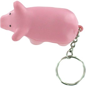 Pig Key Chain Stress Relievers