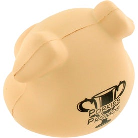 Pig Funny Face Stress Ball with Your Slogan