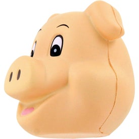 Pig Funny Face Stress Ball for Advertising