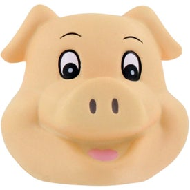 Pig Funny Face Stress Ball