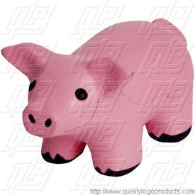 Pig Stress Reliever with Sound