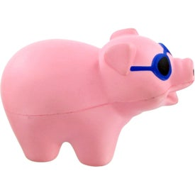 Pig With Sunglasses Stress Toy for Promotion
