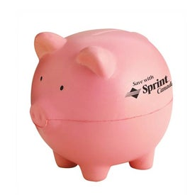 Piggy Bank Stress Shape