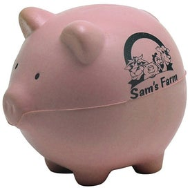Pink Pig Stress Reliever