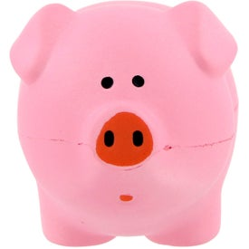 Company Pink Pig Stress Toy
