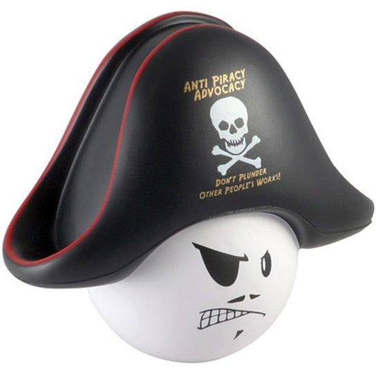 Pirate Mad Cap Stress Ball