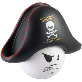 Pirate Mad Cap Stress Ball