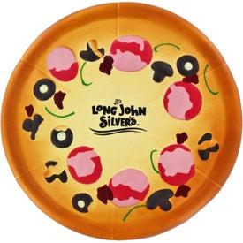 Imprinted Pizza Stress Ball