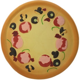 Printed Pizza Stress Ball