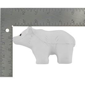 Imprinted Polar Bear Stress Reliever