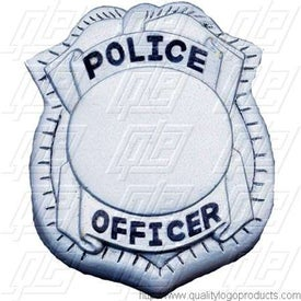 Police Badge Stress Ball