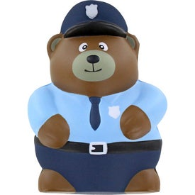Police Bear Stress Ball