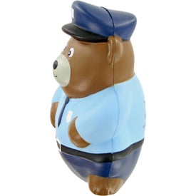 Police Bear Stress Toy for Marketing