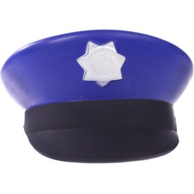Personalized Police Cap Stress Ball