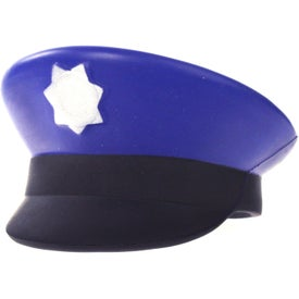 Police Cap Stress Ball with Your Logo