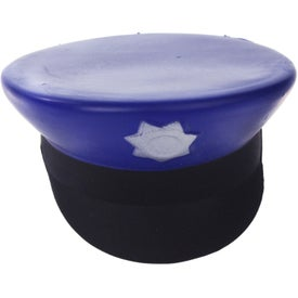 Promotional Police Cap Stress Ball