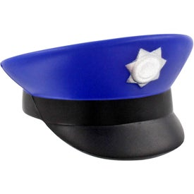 Police Cap Stress Ball for Your Company