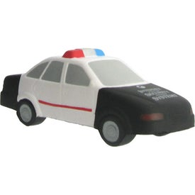 Police Car Stress Ball with Your Logo