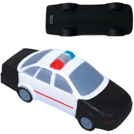 Branded Police Car Stress Ball