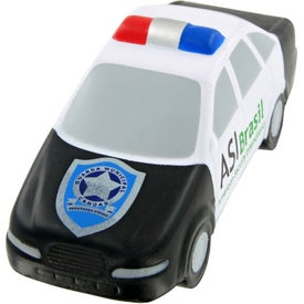 Promotional Police Car Stress Toy