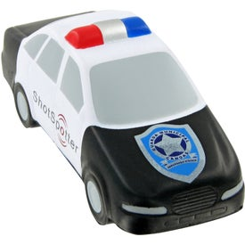 Personalized Police Car Stress Toy