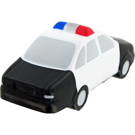 Police Car Stress Toy with Your Logo