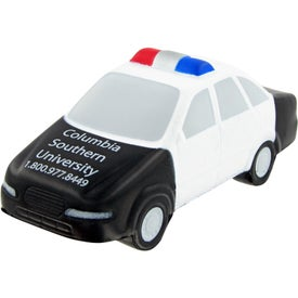 Branded Police Car Stress Toy