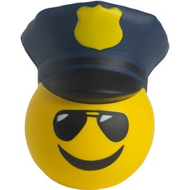 Police Officer Emoji Hat Stress Relievers