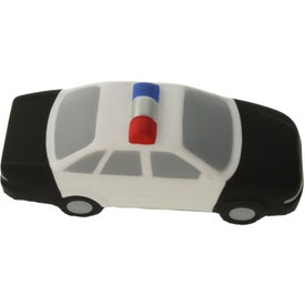 Police Car Stress Ball Branded with Your Logo
