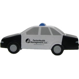 Custom Police Car Stress Ball