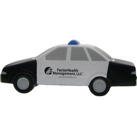 Custom Police Car Stress Ball